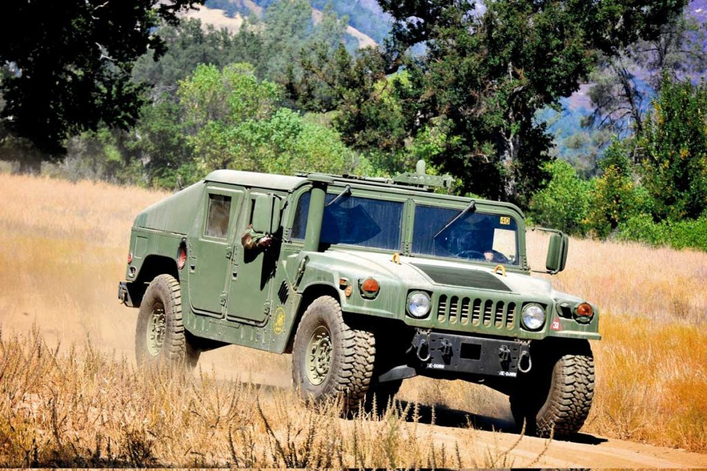 The Military Humvee Has Great Ground Clearance