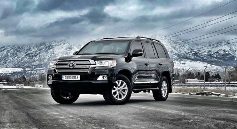 Armored Toyota Landcruiser