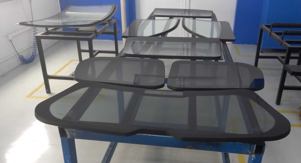 Armored glass Production Pieces