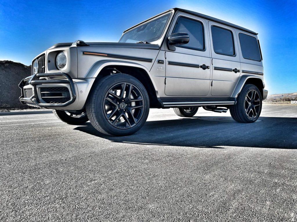 Armoured Silver Mercedes G Wagon Armormax