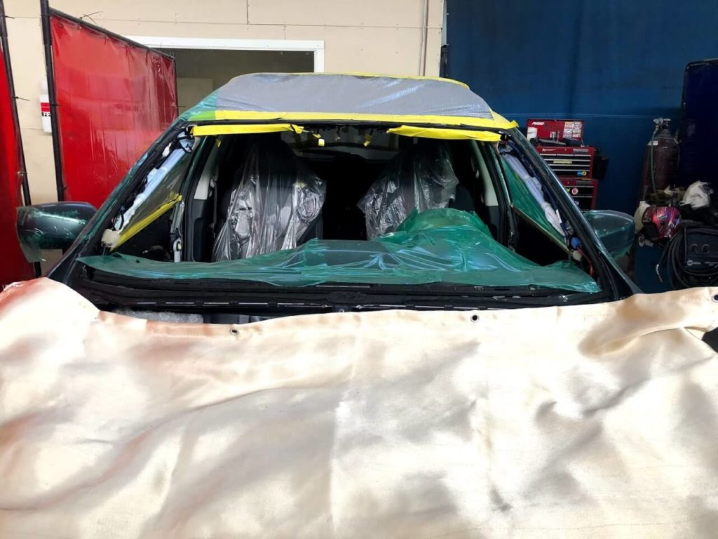 Windshield Bulletproof Installation
