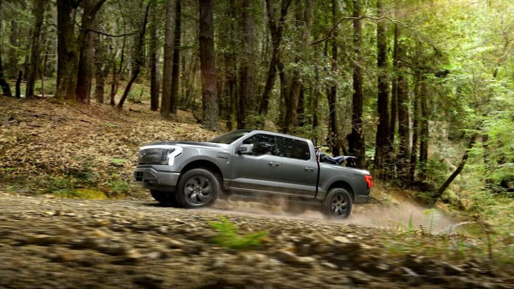 Armored F-150 Lightning from Armormax Driving