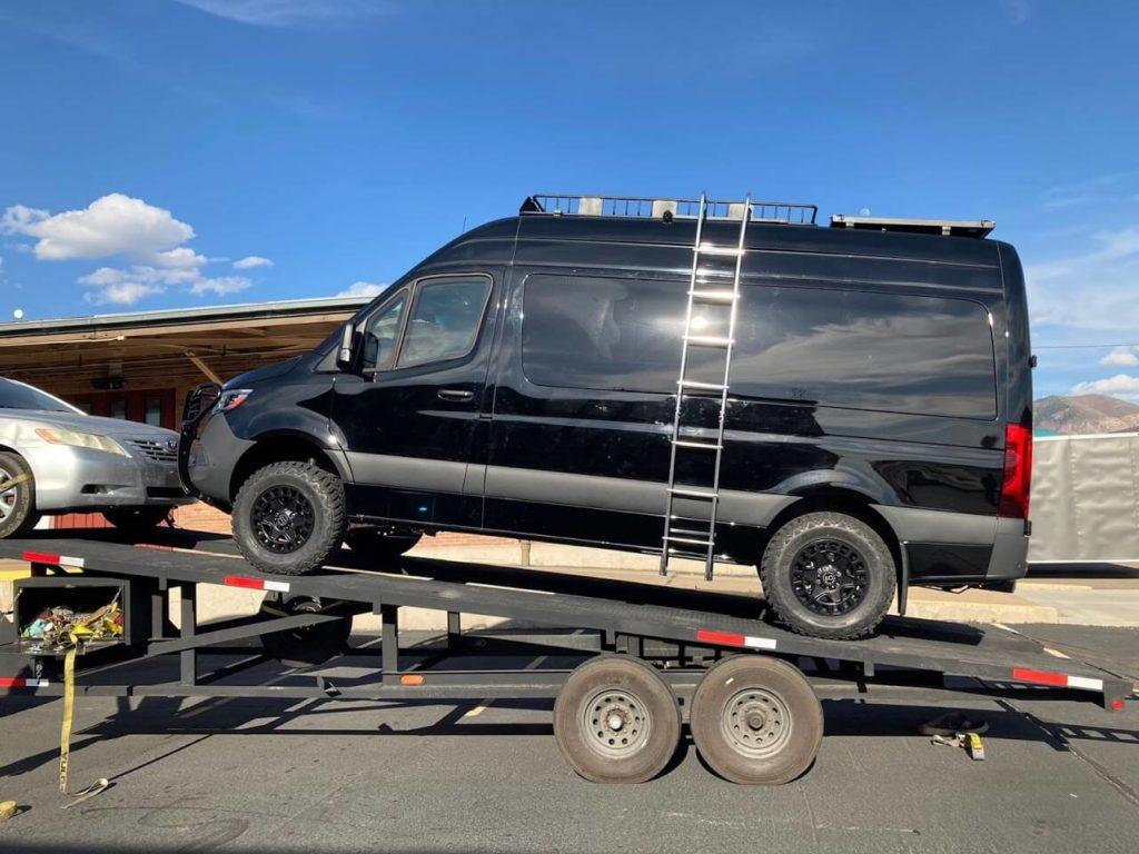 Bulletproof Sprinter Van Upgrades Armormax