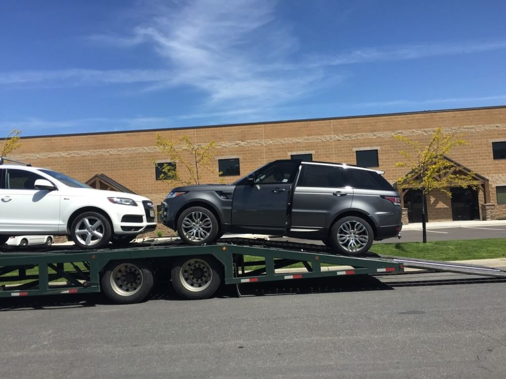 Armored Car Shipping Transport