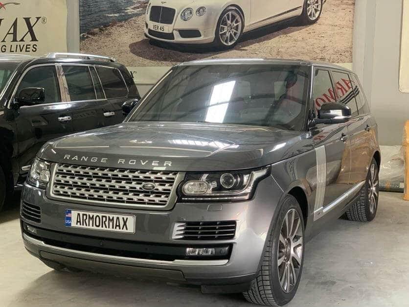 Armoring Process - Starting a Bulletproof Range Rover